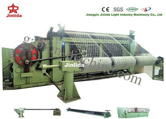 5000mm 30kw Gabion Mesh Machine PLC Control 100*120mm Hexagonal Wire Mesh